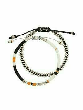 M. Cohen set of 2 beaded bracelets - White