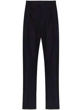 Valentino contrast stripe tailored trousers - Blue