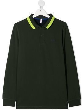 Sun 68 TEEN polo shirt - Blue