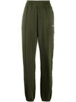 Nike exposed seam track trousers - Green