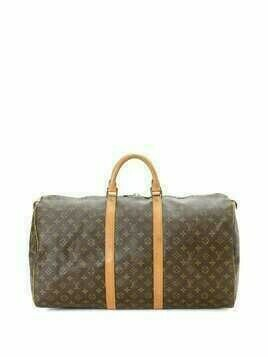 Louis Vuitton pre-owned Keepall 55 travel bag - Brown