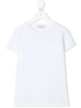 Paolo Pecora Kids crew-neck T-shirt - White
