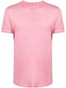 Majestic Filatures crew-neck cotton T-shirt - Pink