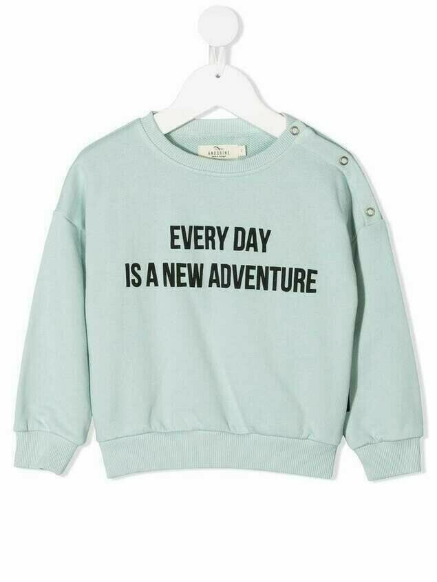 Andorine Every Day sweatshirt - Green