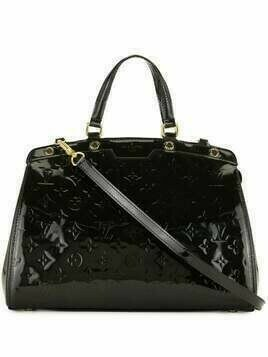 Louis Vuitton pre-owned medium Brea handbag - Black