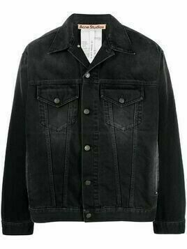 Acne Studios washed denim jacket - Black