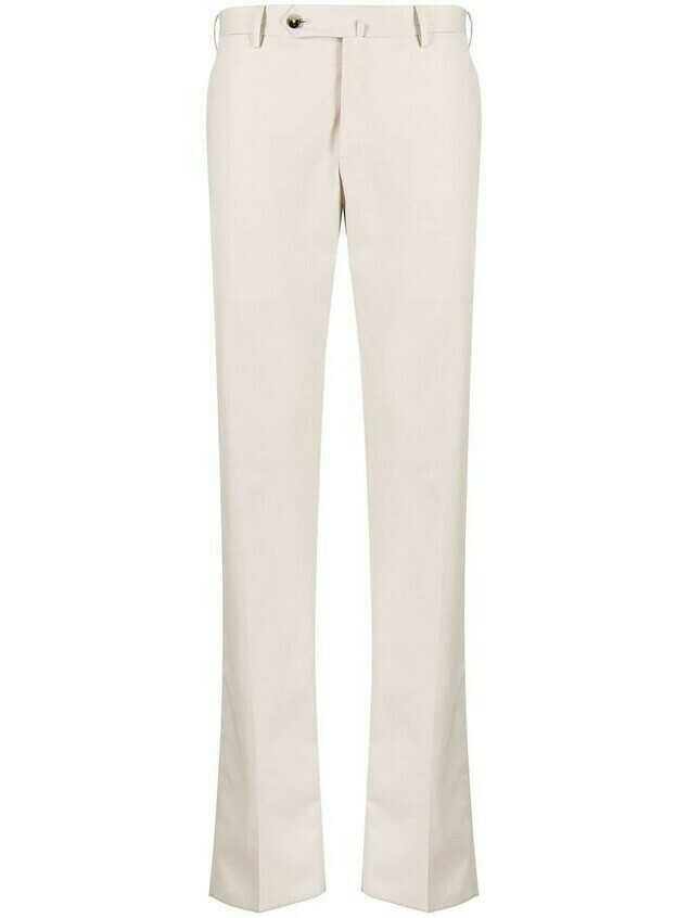 Pt01 Reported pleated trousers - Neutrals