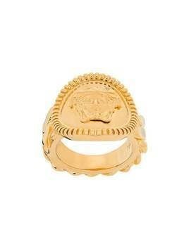 Versace chained medusa ring - GOLD