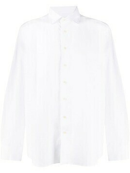 Etro button-up long sleeve shirt - White