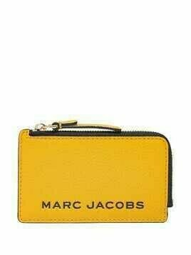 Marc Jacobs The Bold zipped wallet - Yellow