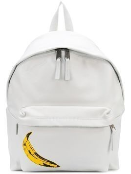 Eastpak banana print backpack - White