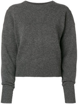 Theory drop shoulder crew - Grey