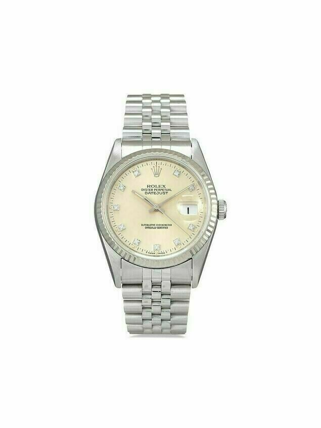 Rolex 1995 pre-owned Datejust 36mm - SILVER