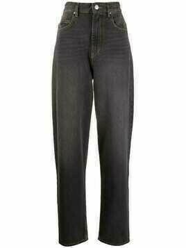 Isabel Marant Étoile Corsyj denim tapered jeans - Black