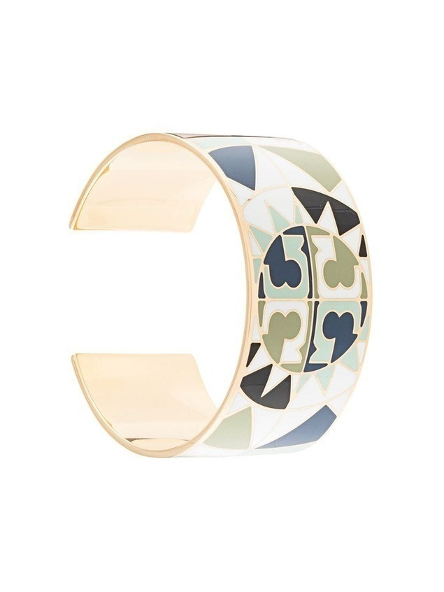 Tory Burch constellation cuff bracelet - Gold