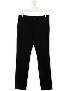 Emporio Armani Kids straight-leg trousers - Blue