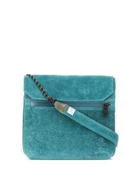 As2ov flat shoulder bag - Blue
