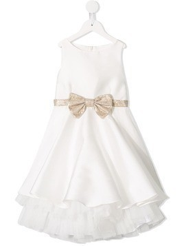 La Stupenderia bow front tulle dress - Las.S60