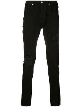 Mr. Completely distressed skinny jeans - Black