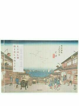 TASCHEN Hiroshige x Eisen: The Sixty-Nine Stations of the Kisokaido - White