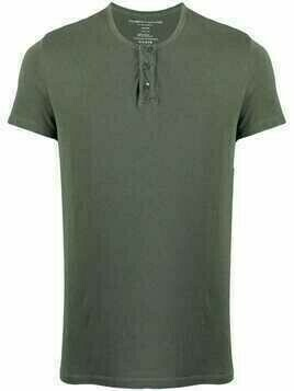 Majestic Filatures Henley short-sleeve T-shirt - Green