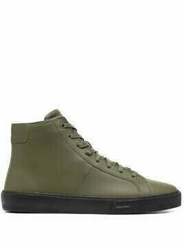 Diesel high-top sneakers - Green
