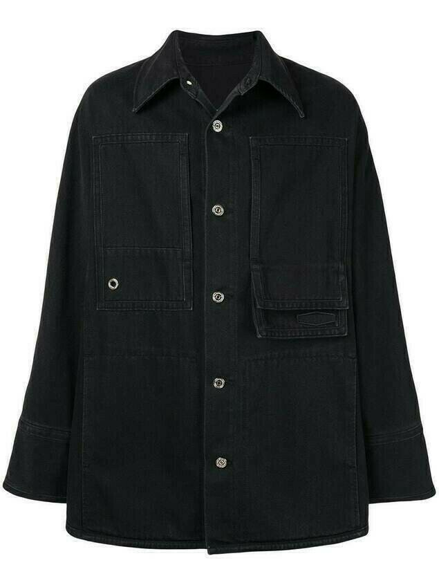 Wooyoungmi denim shirt jacket - Black