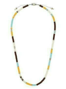 M. Cohen beaded style necklace - Silver