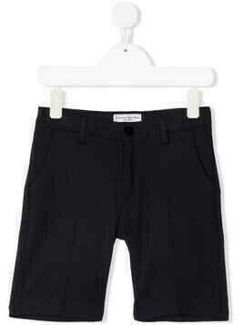 Paolo Pecora Kids slim-fit chino shorts - Blue