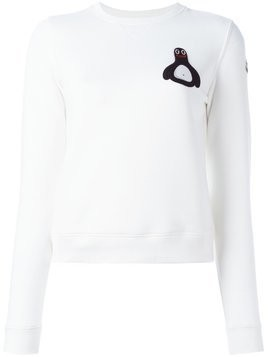 Moncler Moncler x FriendsWithYou 'Malfi' sweatshirt - Nude & Neutrals