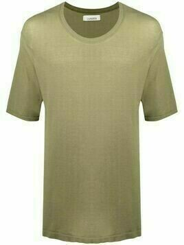 Laneus short-sleeved cotton T-shirt - Green
