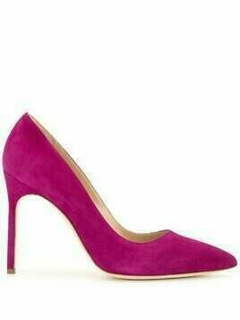 Manolo Blahnik BB pointed pumps - PURPLE