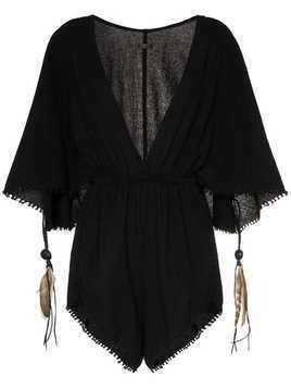 Caravana Izamal playsuit - Black