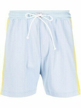 Viktor & Rolf side stripe detail shorts - Blue