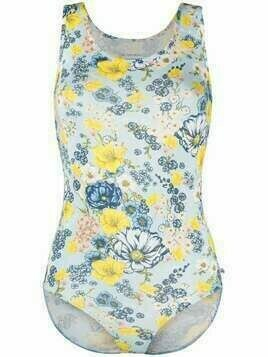 Viktor & Rolf all-over floral print body - Blue