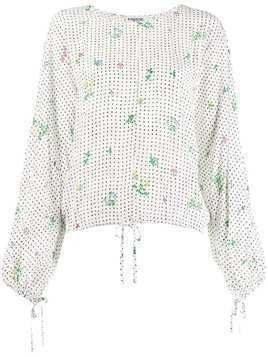 Essentiel Antwerp Traditions printed top - White