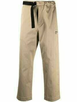 OAMC belted cotton chino trousers - Neutrals