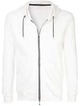 Guild Prime zip front hoodie - White
