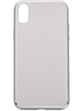 Kenzo Tiger etched iPhone X case - Grey