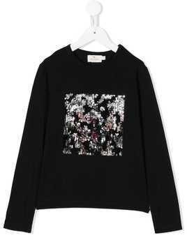 Andorine embellished long sleeve T-shirt - Black