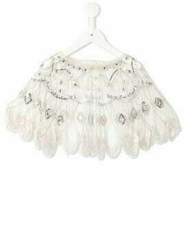 Tutu Du Monde Shangai beaded cropped cape - Pink