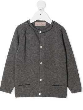 La Stupenderia button-up wool cardigan - Grey