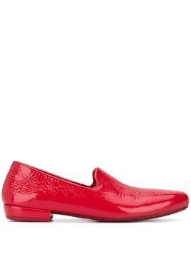 Marsèll patent slip-on loafers - Red