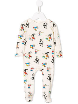Stella Mccartney Kids Dandy print pajamas - Nude & Neutrals