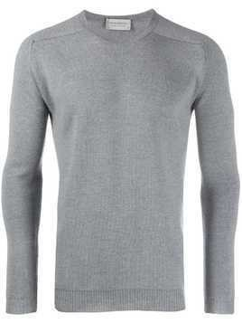 John Smedley slim-fit knit sweater - Grey