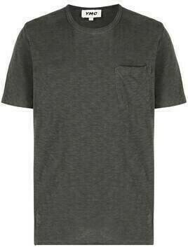 YMC round neck short-sleeved T-shirt - Grey