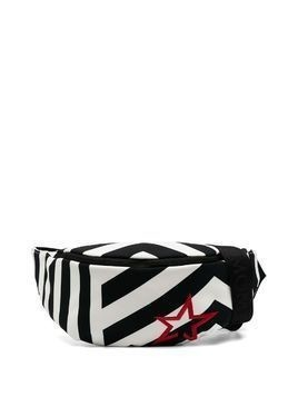 Perfect Moment contrast-stripe belt bag - Black