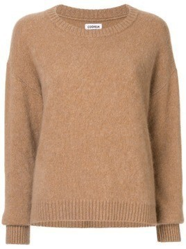 Coohem crewneck knitted jumper - Brown