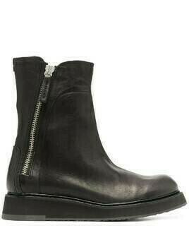 Cinzia Araia chunky leather boots - Black