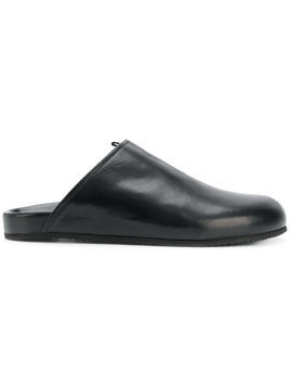 Damir Doma Damirdoma x Officine Creative round slip-on slippers - Black